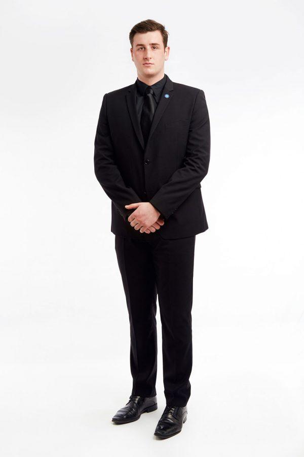 Dsd organisation costume noir chemise blanche cravate noire - Cravate noire homme ...