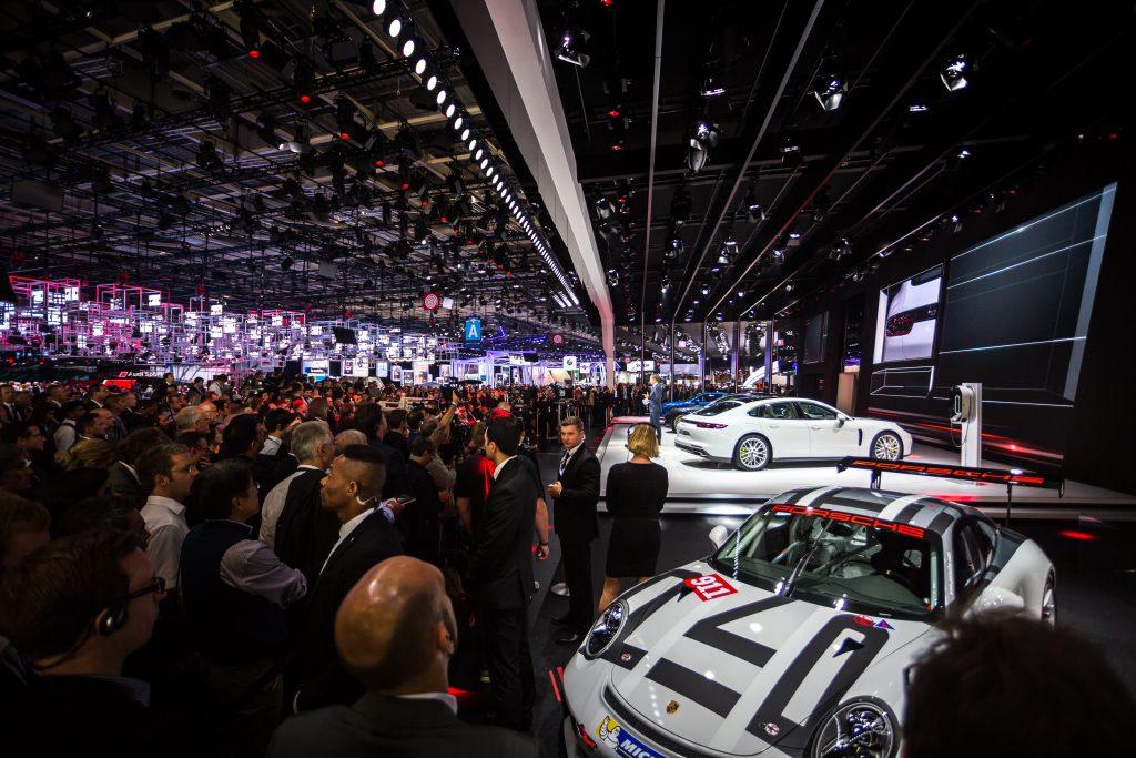 Mondial de l'Automobile 2016, le 29 septembre 2016 à Paris Expo Porte de Versailles. Photo : Alexis Goure