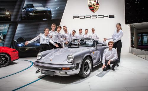 PORSCHE / Mondial de l'Automobile 2018